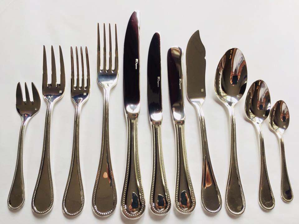 Our full set of luxurious silverware