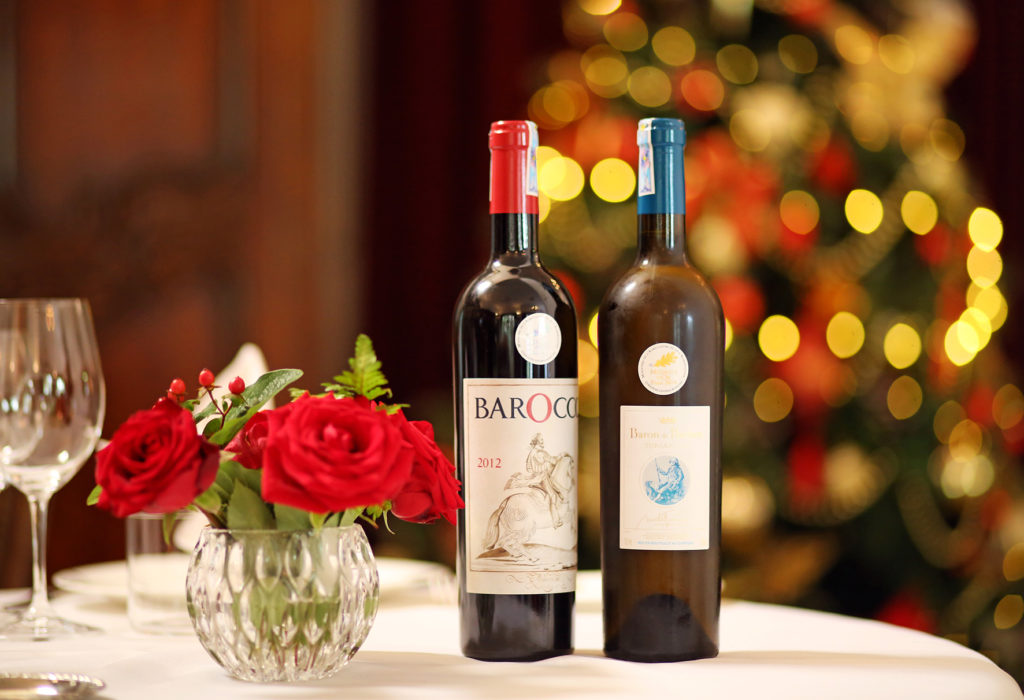Two Bottles from Our Extensive Wine List