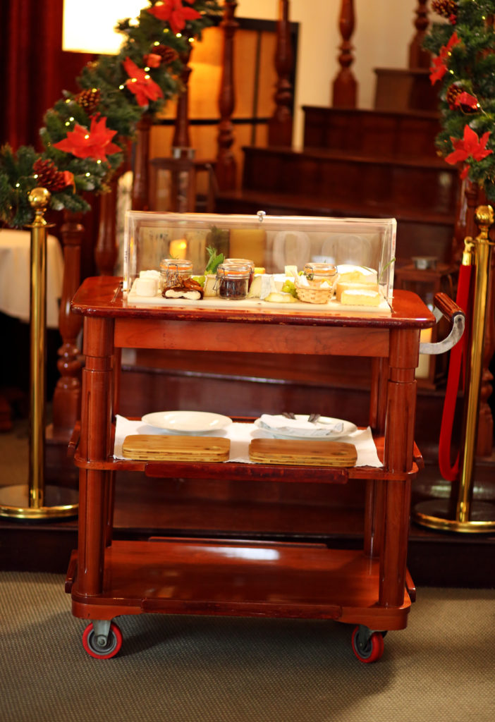 La Villa's Cheese Trolley